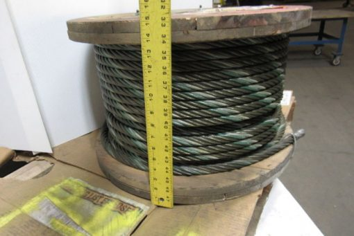 100921 3 4 wire rope steel cable 6x36 const aprox 350 bulk sling choker winch line 2 510x341 1