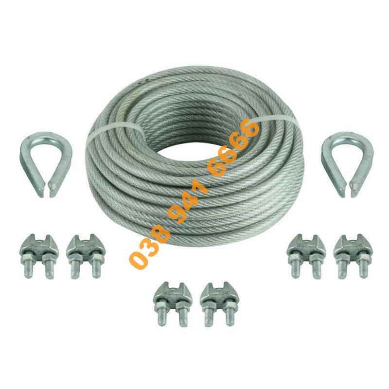 dây cáp inox 304 bọc nhựa
